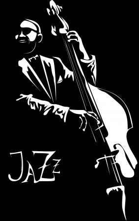 Serie - Los viejos de jazz con el contrabajo favorita