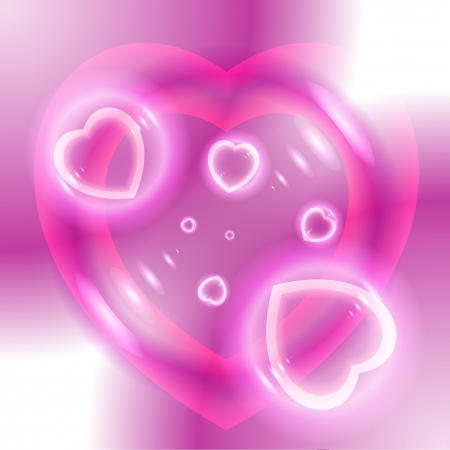 Abstract background Valentine photo