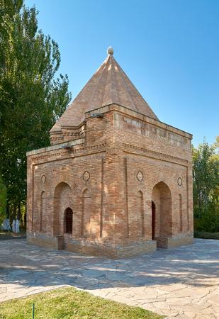 Mausoleum Babadji-hatum. A Silk Way Kazakhstan.