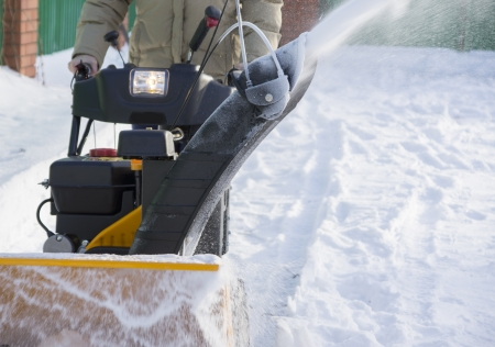 snow clearing: Clearing snow