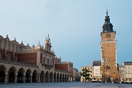 Krakow city hall tower