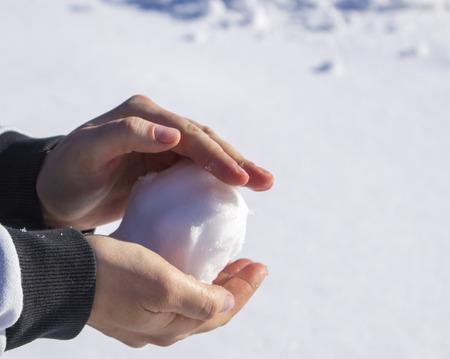 boule de neige: boule de neige Banque d'images