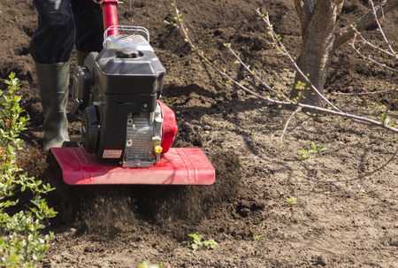 working: working cultivator
