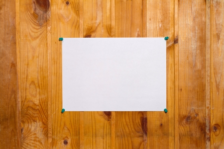 sheet of white paper