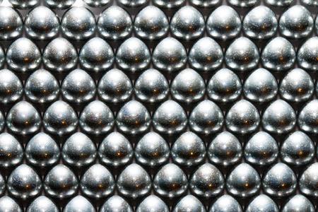 glisten: background metal balls beads glisten