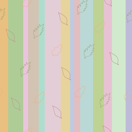 Strip pattern, pastel colors. Vector illustration Vector