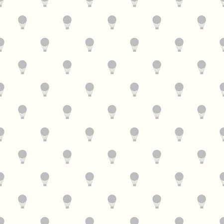 ballooning: Seamless pattern with color hot air balloons for pattern fills, web page background,surface textures