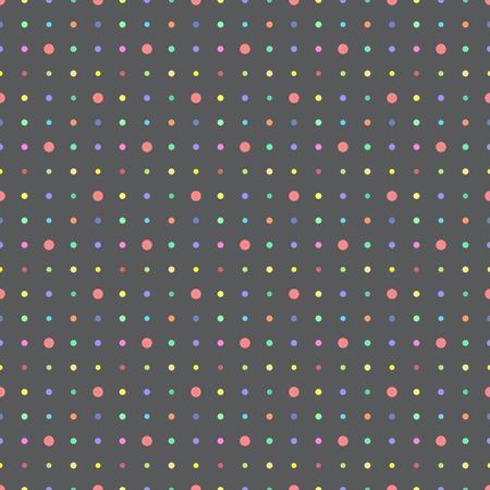 Point de vecteur fond point multicolore. Pour les motifs de remplissage, fond de page web, blog. Texture élégante. Vecteurs