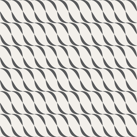 crimp: Vector seamless background. Modern stylish texture. Repeating geometric shapes. Contemporary graphic design.