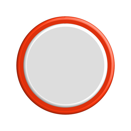 buttons vector: colorful 3d buttons. Vector illustration.
