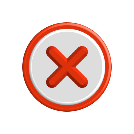 Vector Flat Design Check Marks Icons. Different Variations of Ticks and Crosses Represents Confirmation, Right and Wrong Choices, Task Completion, Voting.