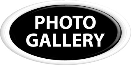 photo gallery: Bot�n de la galer�a de fotos. La forma redonda. 3D. Ilustraci�n del vector.