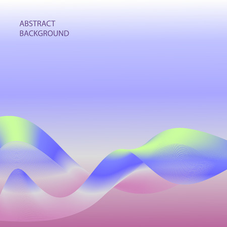 enfumaçado: Abstract smoky waves background. Template brochure design
