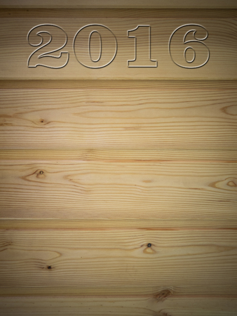 drawing room: Wooden Board with drawing room 2016 Stock Photo