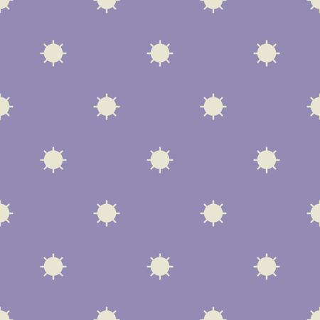 abstrakte muster: Nahtlose geometrische Muster von Kreisen mit Strahlen