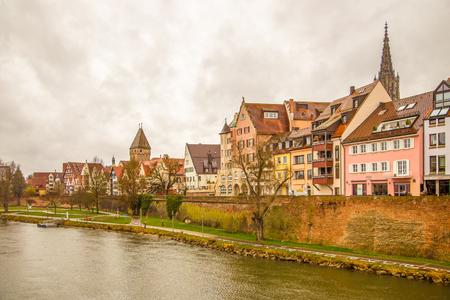 City of Ulm, Danube Stock Photo