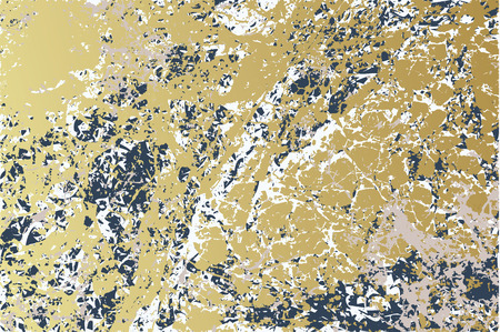 Golden-Blue marble texture background. Gold blue vector texture illustration.