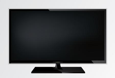 Plasma lcd modern tv screen.
