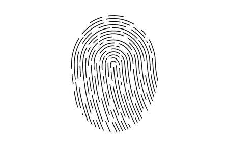 Fingerprint icon identification.