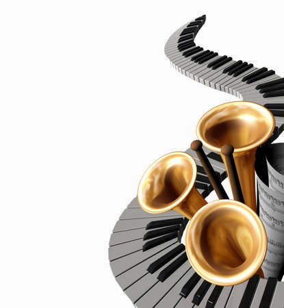 musica clasica: cubrir la m�sica cl�sica Foto de archivo