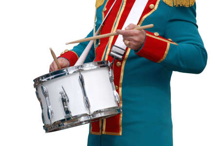 processions: drummer