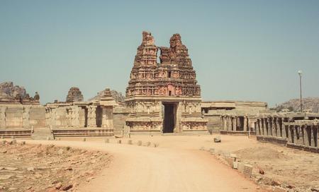 karnataka culture: Vittal Temple. Hampi, India
