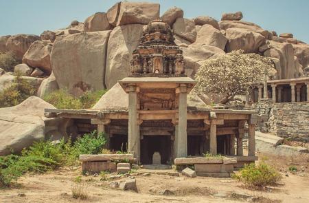 karnataka: Temple at Hampi, India