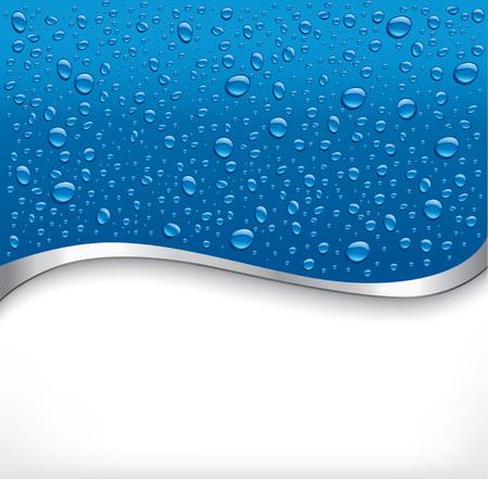 푸른 물 배경 스톡 콘텐츠 - 54016757