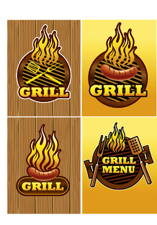 haunch: grill template