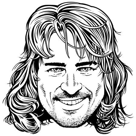 rey caricatura: Peter Sagan Eslovaquia ciclista campeón del mundo Vectores