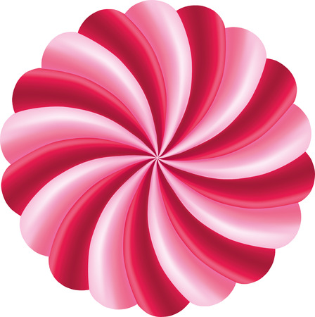 red swirl: red and pink swirl, Twisted candy background