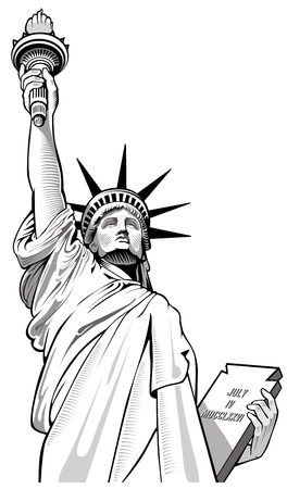 Statue de la Liberté, États-Unis, symbole NYC