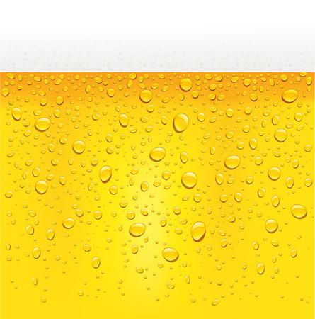 Beer foam pattern