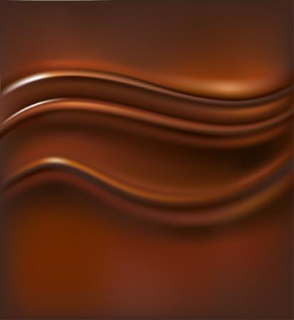chocolate swirl: chocolate background