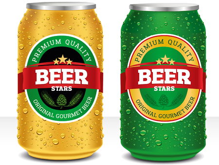 beer can design template royalty free cliparts vectors and stock
