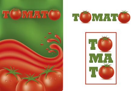 Set design graphic with Tomato