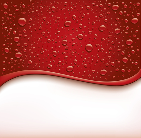 dark red bubbles droplets background