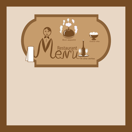 main dishes: plantilla de la carta del restaurante