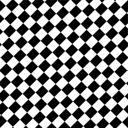 Black and white abstract background resembling a checkerboard. Illustration