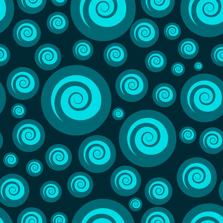 Abstract bubbling seamless pattern.