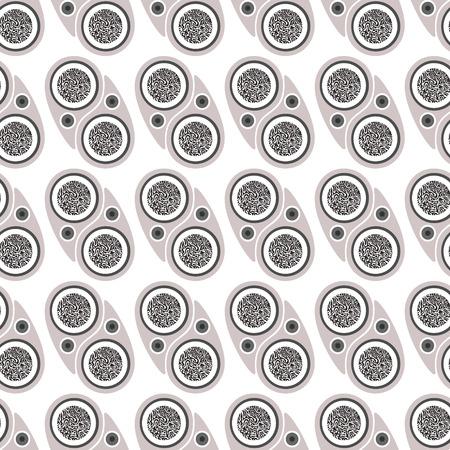 undulatory: abstract seamless pattern.