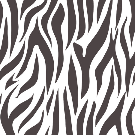 sinuous: black and white abstract seamless pattern. Illustration