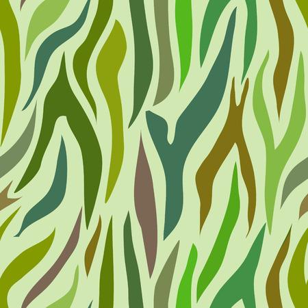 undulatory: colorful abstract seamless pattern. Illustration