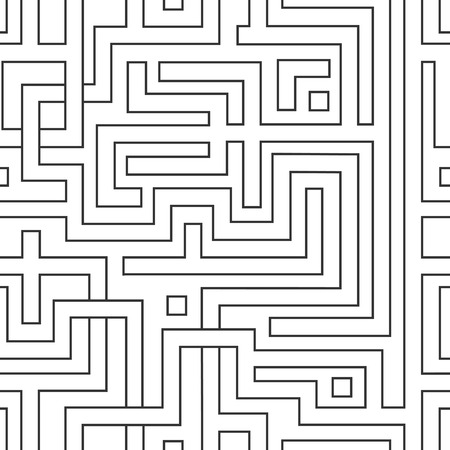 conundrum: Abstract seamless pattern resembling a maze.