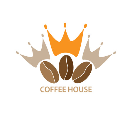 Logo template for a cafe,shop,coffee company.