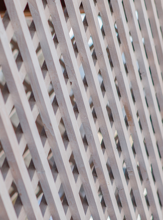 Texture of the wooden lattice. Can be used as background. Archivio Fotografico