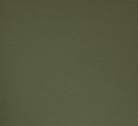 Dark green rough linen fabric texture close-up as background.
