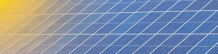 Solar panels set near a rustic house.