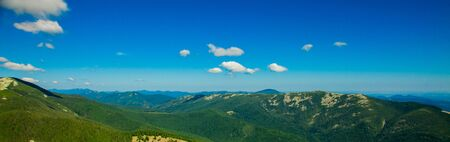 Panorama of Carpathian mountains in summer sunny day ,Travel at Ukraine. Beauty of nature concept 版權商用圖片