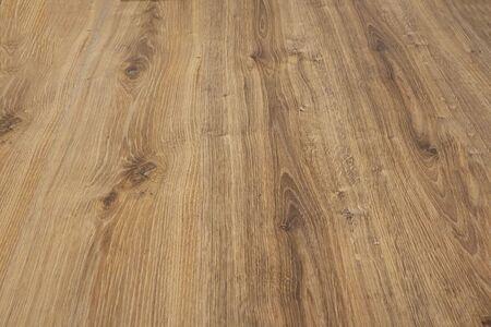Seamless Oak laminate parquet floor texture background, selective focus